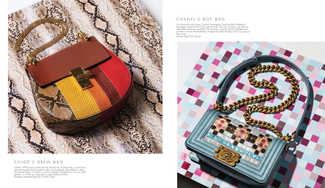 Outside The Box | Luxury Bag Shoot | Emirates Woman