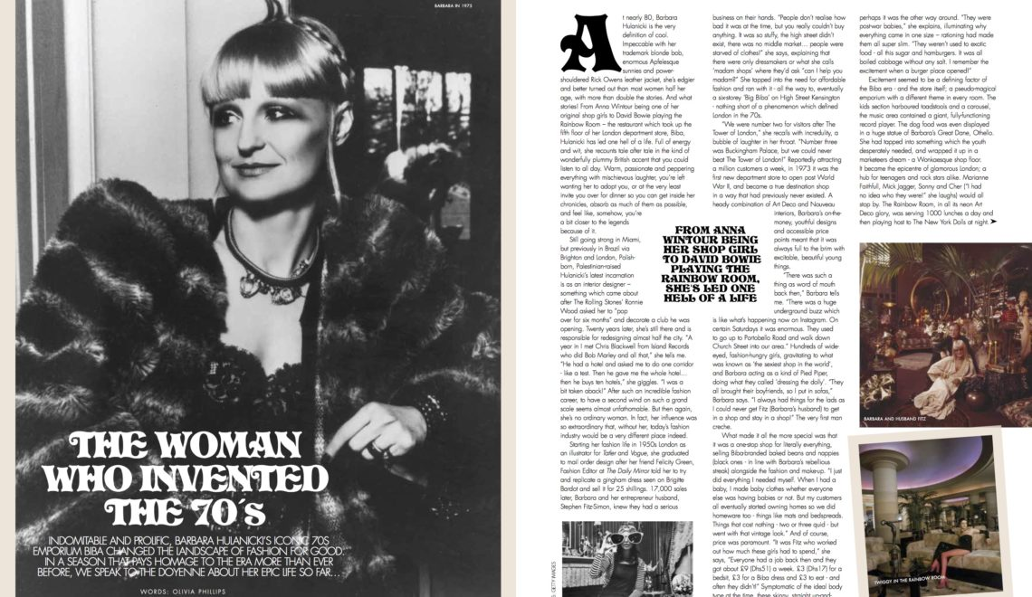 The Woman Who Invented The '70s | Barbara Hulanicki Interview | Emirates Woman