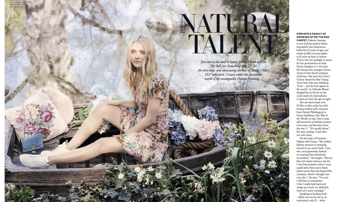 Natural Talent | Dakota Fanning Interview | Grazia