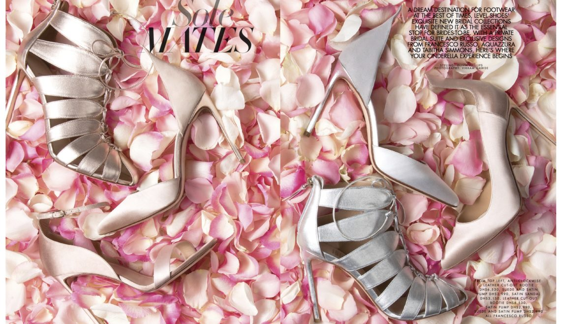 Sole Mates | Level Shoes Bridal Client Shoot | Emirates Woman